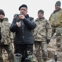 Секретар Ради національної безпеки і оборони України Олександр Турчинов під час...