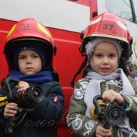 На пожежному авто - до… дитсадка