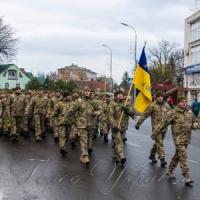 Марш героев  в древнем городе