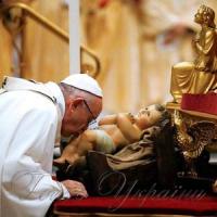 Папа Римський помолився за Україну і її дітей