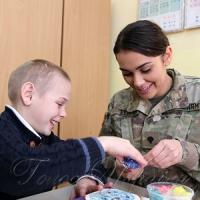 Військові створили дітям свято