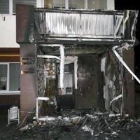 До поліції надійшло повідомлення про те, що, горить офісне приміщення «Стограду