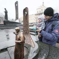 У Львові відтворили пам'ятник...