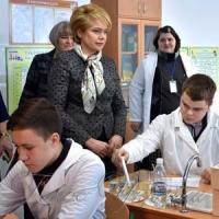 Розвитком та перспективами освіти міністр задоволена