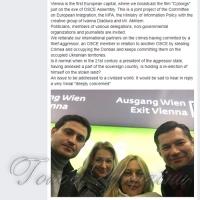 У Відні перед засіданням Асамблеї ОБСЄ відбулась презентація фільму «Кіборги»