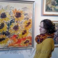 У столичному Будинку художника відкрилася виставка «Короля квітів»