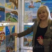 Презентували у Верховній Раді виставку дитячих малюнків «Мій Крим» очима дітей України»