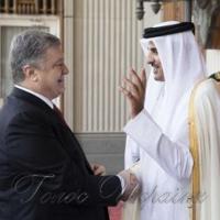 Підписали низку  документів  про співпрацю з Катаром