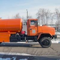 На Кременчуцькому автомобільному заводі презентували новий паливозаправник