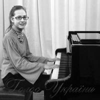 Юна піаністка з Корсуня