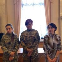 Презентували стрічку  про жінок-військовослужбовців