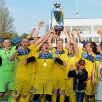 У Києві на стадіоні імені Віктора Баннікова відбувся третій благодійний футбольний матч «Парламентський кубок-2018»