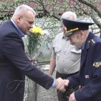 Ветеран-машиніст зустрів сто третю весну