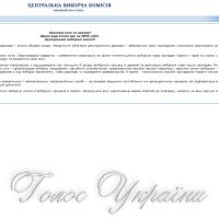 Перелік громадських організацій, яким Центральною виборчою комісією…
