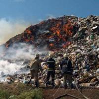 Вогонь охопив півтори тисячі квадратних метрів