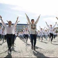 «За вільну Україну, за свій коханий край!»