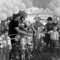 Міні-футбольні поля та спортивно-ігрові майданчики за сприяння Василя Яніцького отримали північні райони Рівненщини