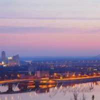 У піднебессі над Дніпром