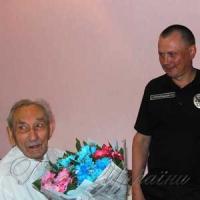Найстаршому ветерану органів внутрішніх справ - 104 роки