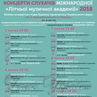 «Міжнародна літня музична академія»...