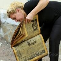 Бібліотека сушить книжки та газети