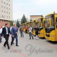 Школи отримали транспорт