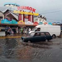 Дожди усиливают опасность на дороге
