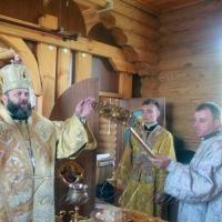 Освятили храм в Копачовке