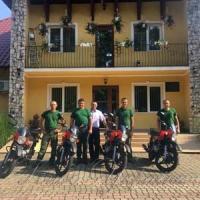 Лісова охорона «осідлала» мотоцикли