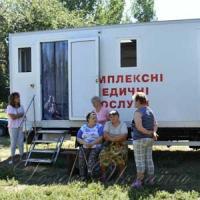 Амбулаторії на колесах доїхали до віддалених сіл