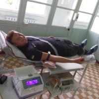 Для допомоги землякам рятувальники віддали кров