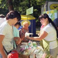 Фестиваль молока заманював смаколиками та піснями