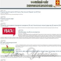 Депутати проголосували за відставку міського голови