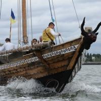 У Львові відбулася презентація унікального походу козацької чайки «Спас»