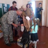 Офіцери групи Cimic Svitlodarsk...