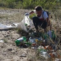 Пластикове сміття школярі «обміняли» на морозиво