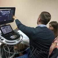 Навчають лікарів працювати  на сучасних УЗД-сканерах