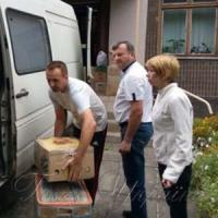 Привезли гуманітарний вантаж для дітей зі сходу