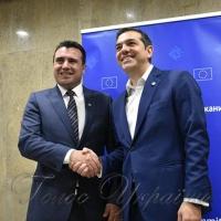 Ципрас і Заєв  можуть отримати  Нобелівську премію