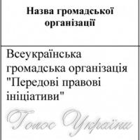 ПЕРЕЛІК громадських організацій...