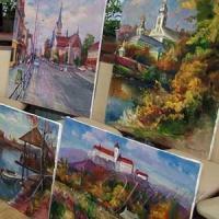 Живописці перенесли на папір історичні пам'ятки