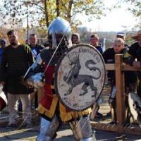 Он мечтал о рыцарских боях в родном городе