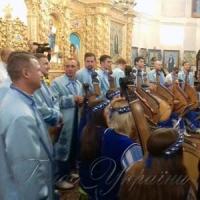 Американські бандуристи почали турне з козацької церкви