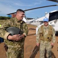 Наші вертолітники у небі Африки