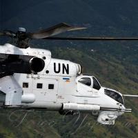 Вертольотчики України у небі Африки.