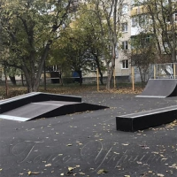 В Умані відкрили перший у місті скейт-парк...