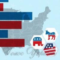 Вибори у США: одна перемога на двох