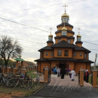На Полтавщині, освятили новий храм УПЦ КП