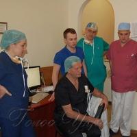 Німецький хірург оперував у Львові