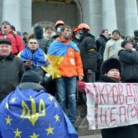 Народне віче в Києві - мітинг прихильників євроінтеграції України